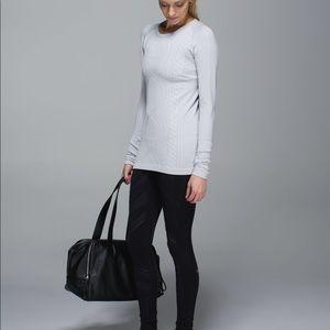 Lululemon Restless Pullover Silver Rulu Sweater 4